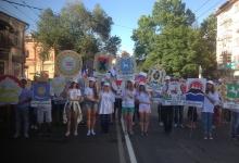 Праздничное шествие приуроченное к 233 летию основания города Симферополя